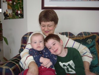 Grandma and kids