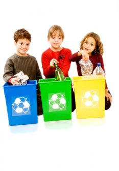 10 recycing sites for children - kids helping the earth