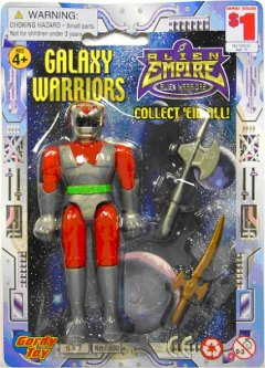 One of the lastest toy recalls - Galaxy Warriors by Henry Gordy