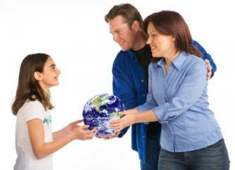 green parenting - passing on the Earth to future generations