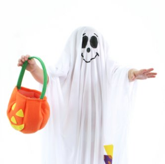 happy halloween - check out our little ghost this year
