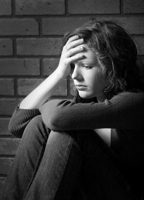 Depression - Sad Teenage Girl
