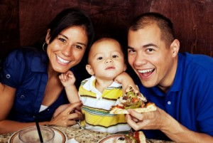 Kids Eat Free - Family Pizza Night