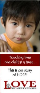 childrens charities - helping kids - Love without Boundaries