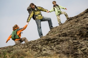 Great Family Experience: Hiking and Climbing together