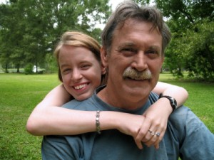Teen Spending the Afternoon with her Dad