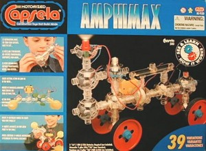 As a kid I would have gone crazy if I had the Capsela