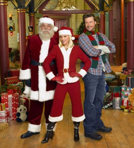 Santa Baby 2: Santa Claus is Paul Sorvino, Mary Class is played by Jenny McCarthy and Luke Jessup is played by Dean McDermott