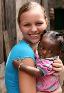 Teen Donating Time Helping Kids in Africa