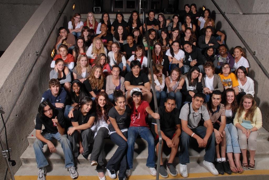 Teen Line Group Photo