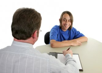 Teen Interviewing for Job