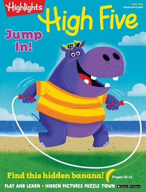 High Five Young Kids Magazine