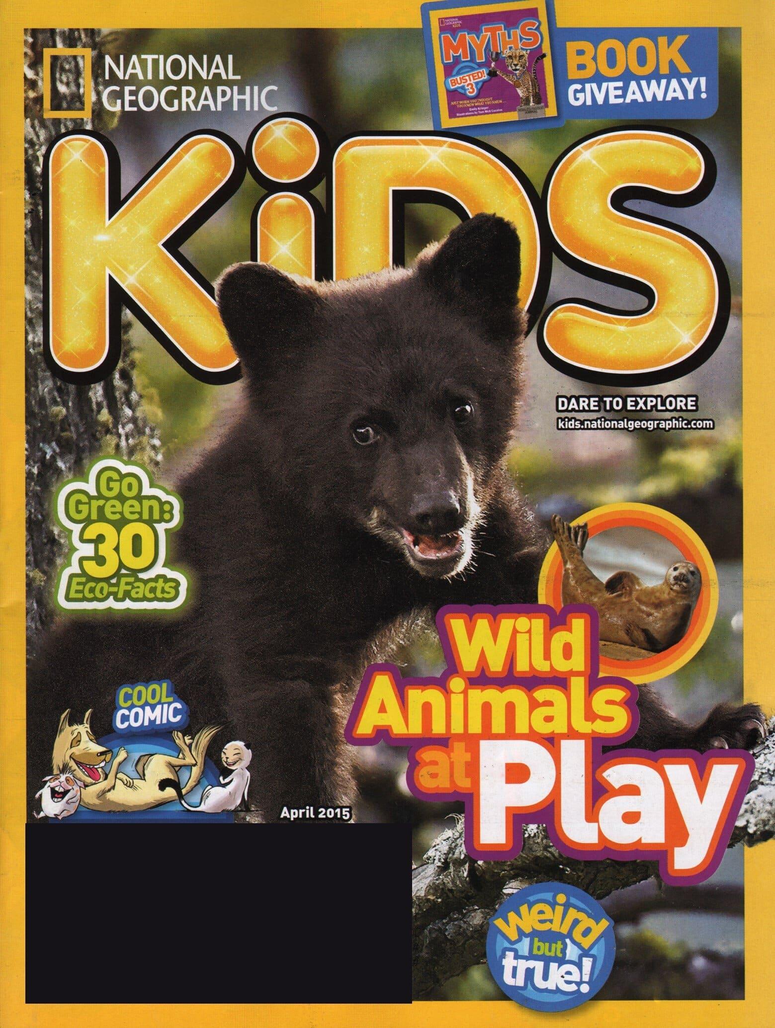National Geographic Childrens Magazine